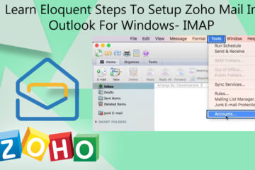 Setup Zoho Mail