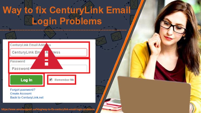 centurylink login prob