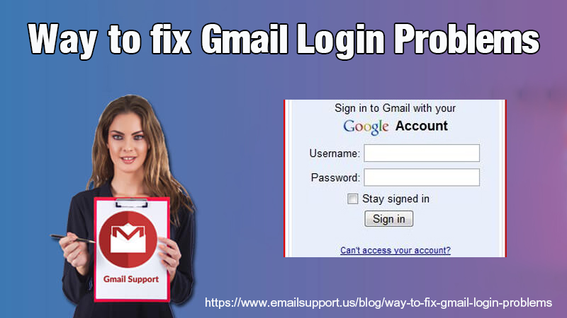 gmail login problmes