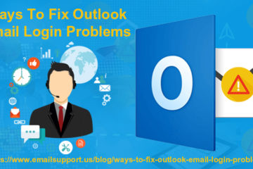 outlook email login problems