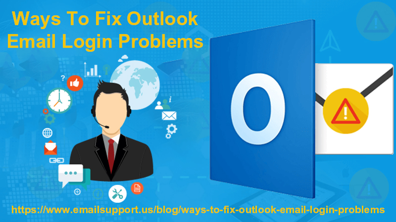 outlook login problems