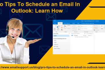 schedule email outlook