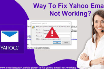 yahoo not working