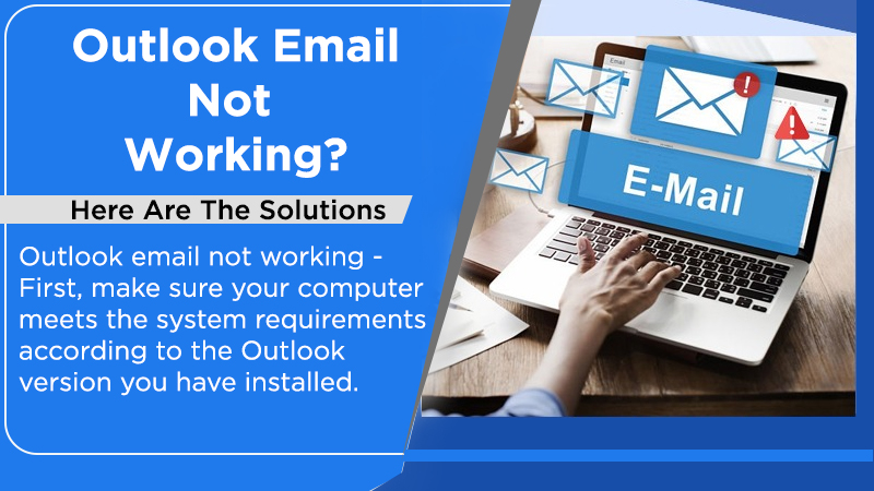 Outlook email not working