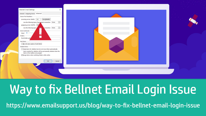 bellnet login isuue