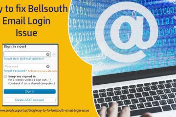 bellsouth login issue