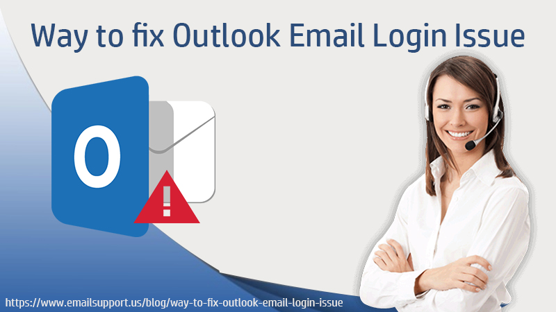 outlook email login issue