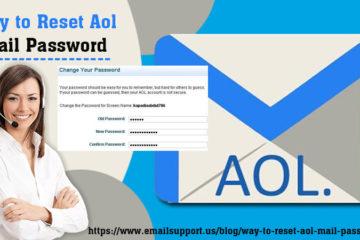 reset aol