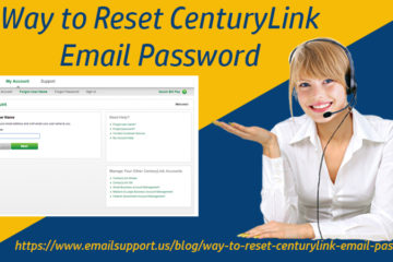 reset Centurylink email password