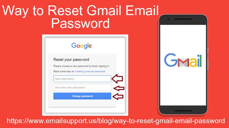 reset gmail