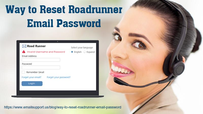 reset roadrunner email