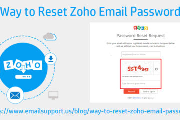 reset zoho email password