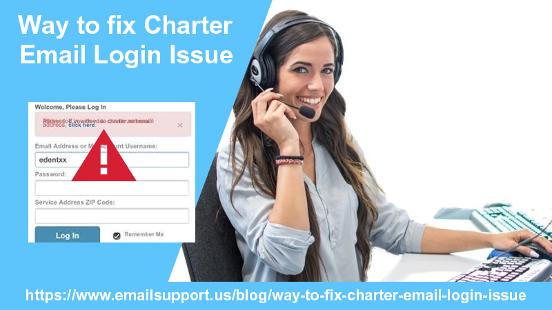 charter email login issue