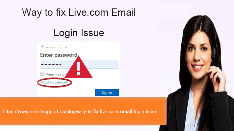 live.com login issue