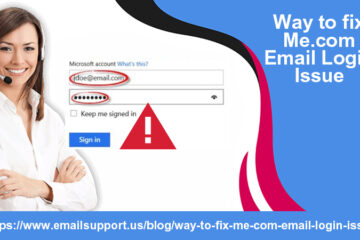 me.com email login issue