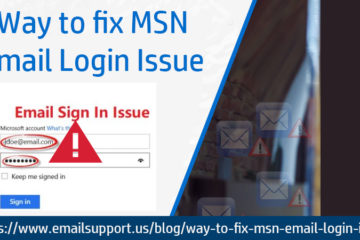 MSN Email Login Issue