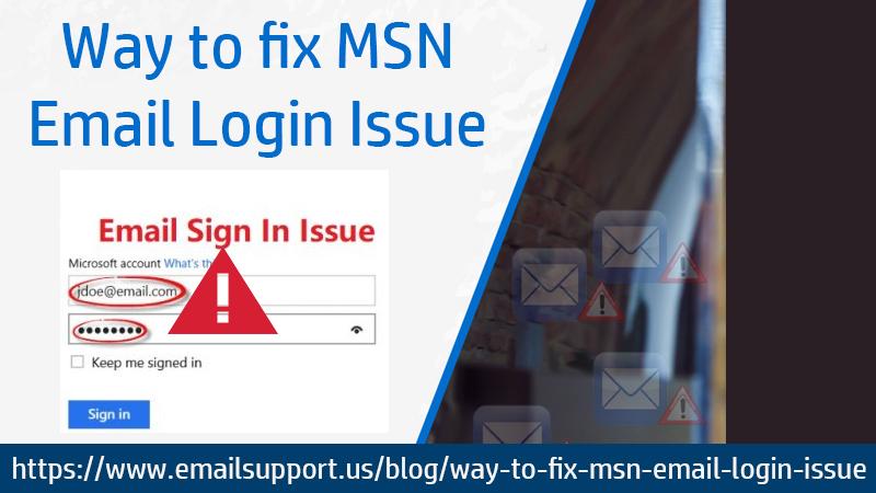msn login issue
