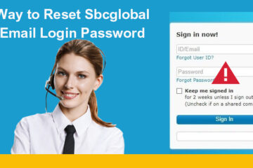 reset sbcglobal password