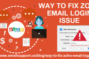 zoho email login issue