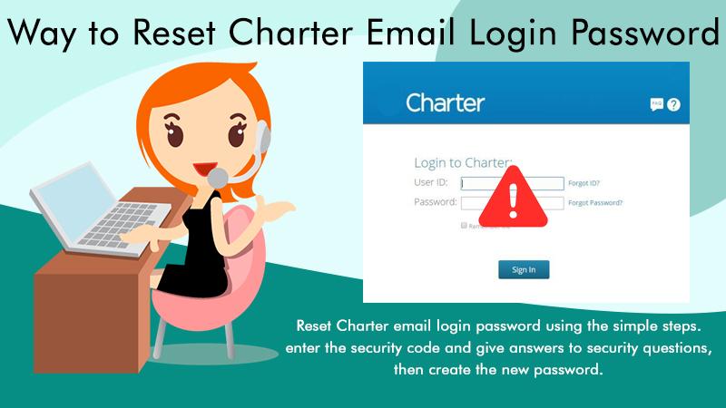 Reset Charter Email Login Password