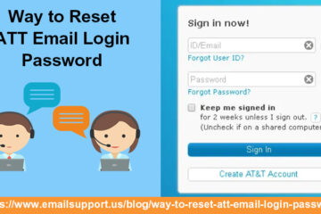 reset ATT Email Login password