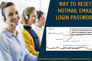 reset hotmail login password