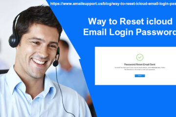 reset icloud login password
