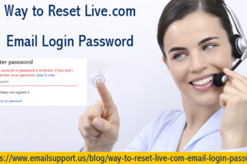 Reset Live.Com Email Login Password