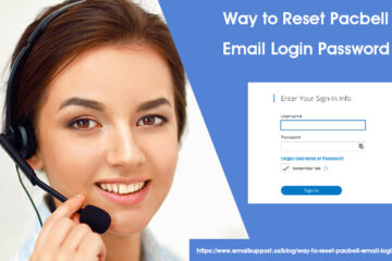 reset pacbell login password