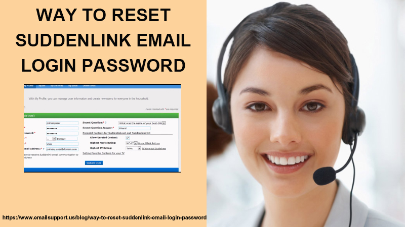 reset suddenlink login password
