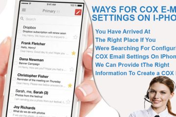 Cox Email Settings