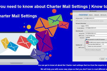Charter email settings