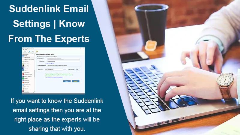 Suddenlink email settings