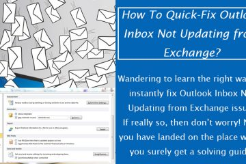 Outlook Inbox Not Updating from Exchange