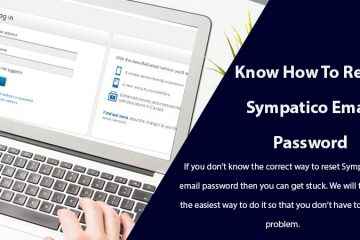 Reset Sympatico Email Password