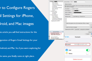 Rogers Email Settings