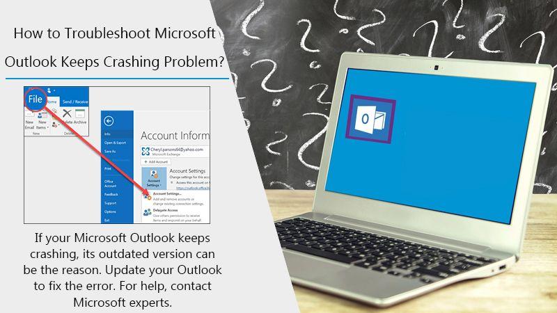 Outlook Keeps Crashing