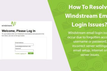 Windstream email login issues