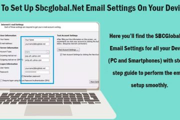 SBCGlobal.net email settings