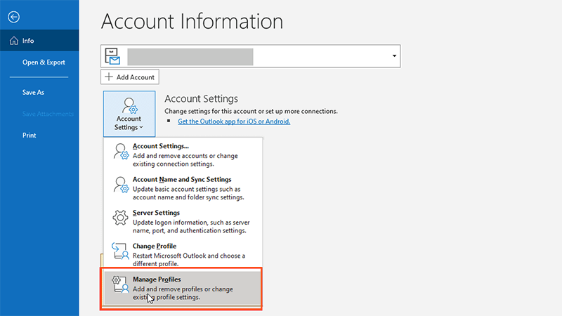 Disable the MS Outlook add-ins