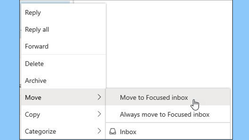 Make sufficient space in Outlook inbox