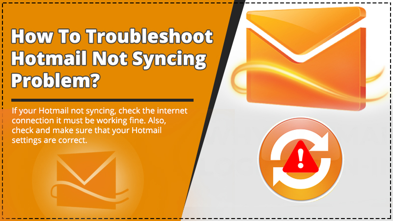 Hotmail not syncing