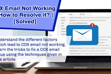 COX email not working