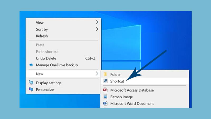 Create a Desktop Shortcut - 1