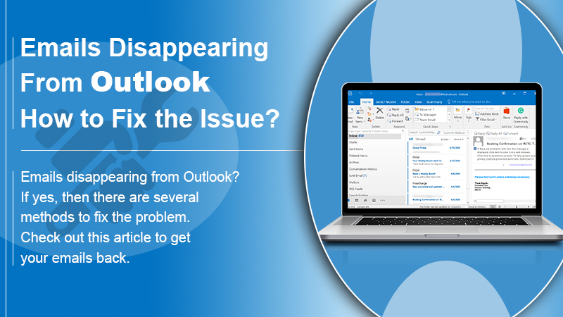 Emails Disappearing From Outlook