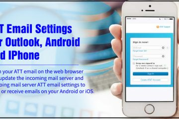 ATT Email Settings