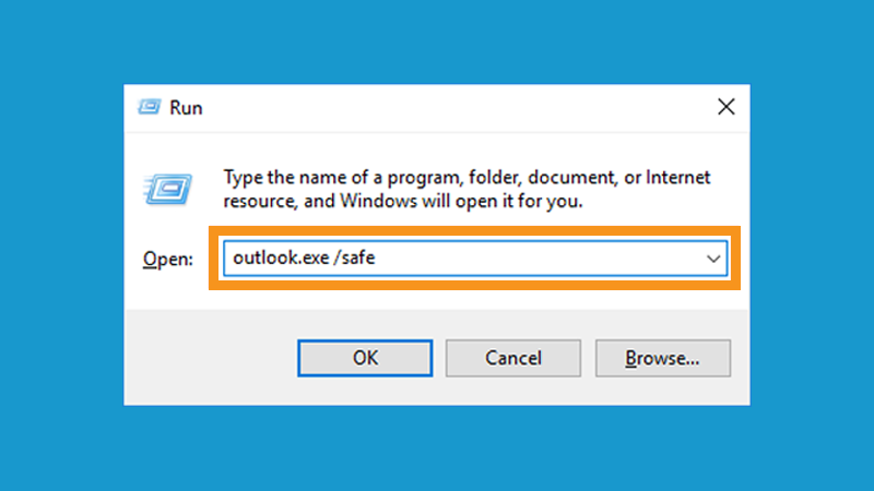 Open Microsoft Outlook in Safe Mode