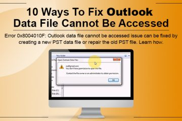 Outlook Data File Cannot be Accessed