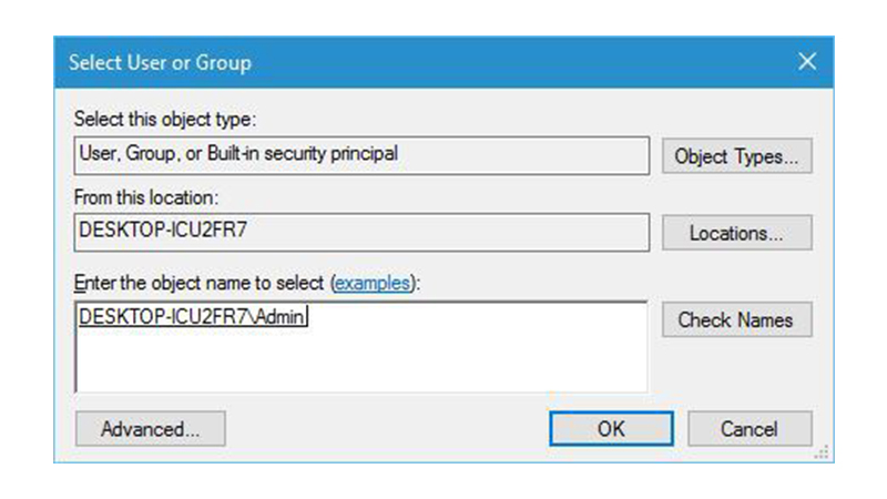 Check Ownership of Data File 3