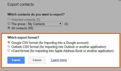 "Choose ""File"" Format"